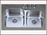Undermount Double Sink